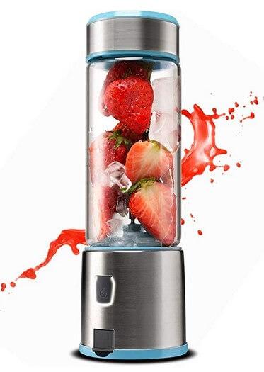 Glass Portable Blender Cordless Blender KACSOO SPOW Single Serve ...
