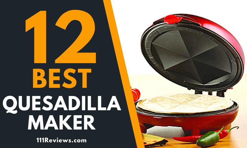 Quesadilla Maker 11 in 6-Wedge Electric Countertop Grill Tortilla Nonstick